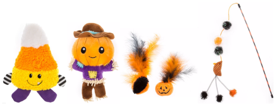 Pet Halloween Themed Items toys