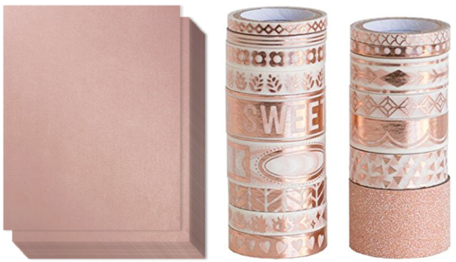 Swoonworthy Rose Gold Craft Supplies On Amazon 187 Puppies